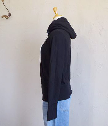 ORG/french latch pile w/zip parka(ブラック)