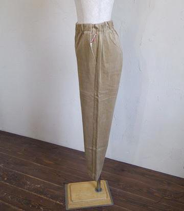 compact yarn corduroy pants(ベージュ)