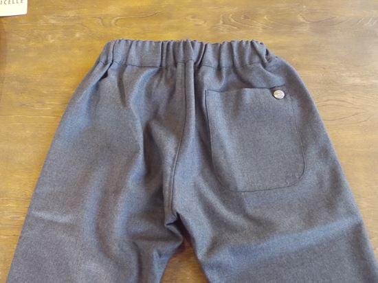 saxony pants +concho(チャコール)