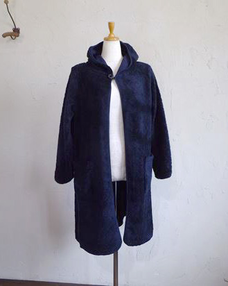 toypoodle sweat hooded coat(ネイビー)